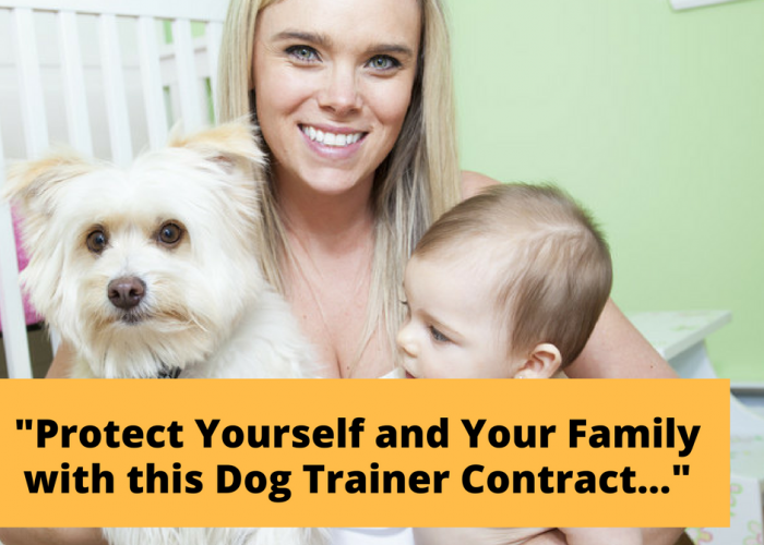 Dog Training Contract