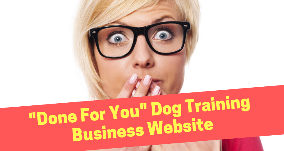 Dog Training Business Website Design